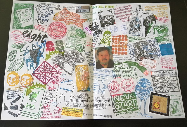 MAIL ART PROJECT #IYE2020 draw your cover // Release 27 - fanzine