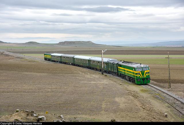 Tren histórico en Villaluenga-Asland.