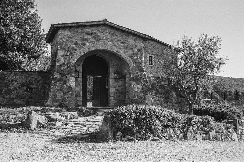 Retraite spirituelle en Ombrie - L'entrée de l'ermitage