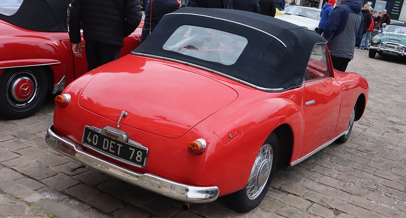 Simca GFA ( Générale Française Automobile ) type 8  49605149837_6b616c1dc2_c