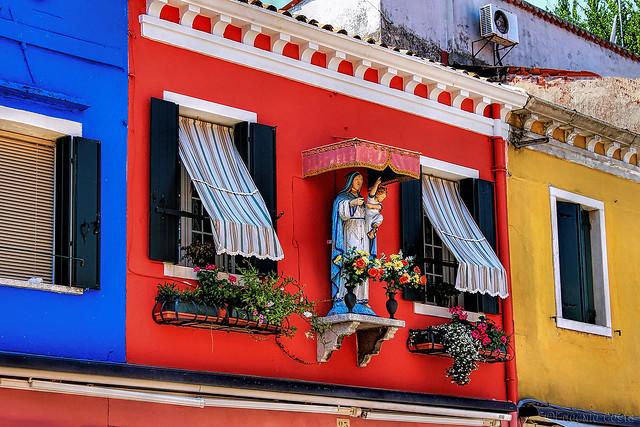 I colori di Burano - The colors of Burano