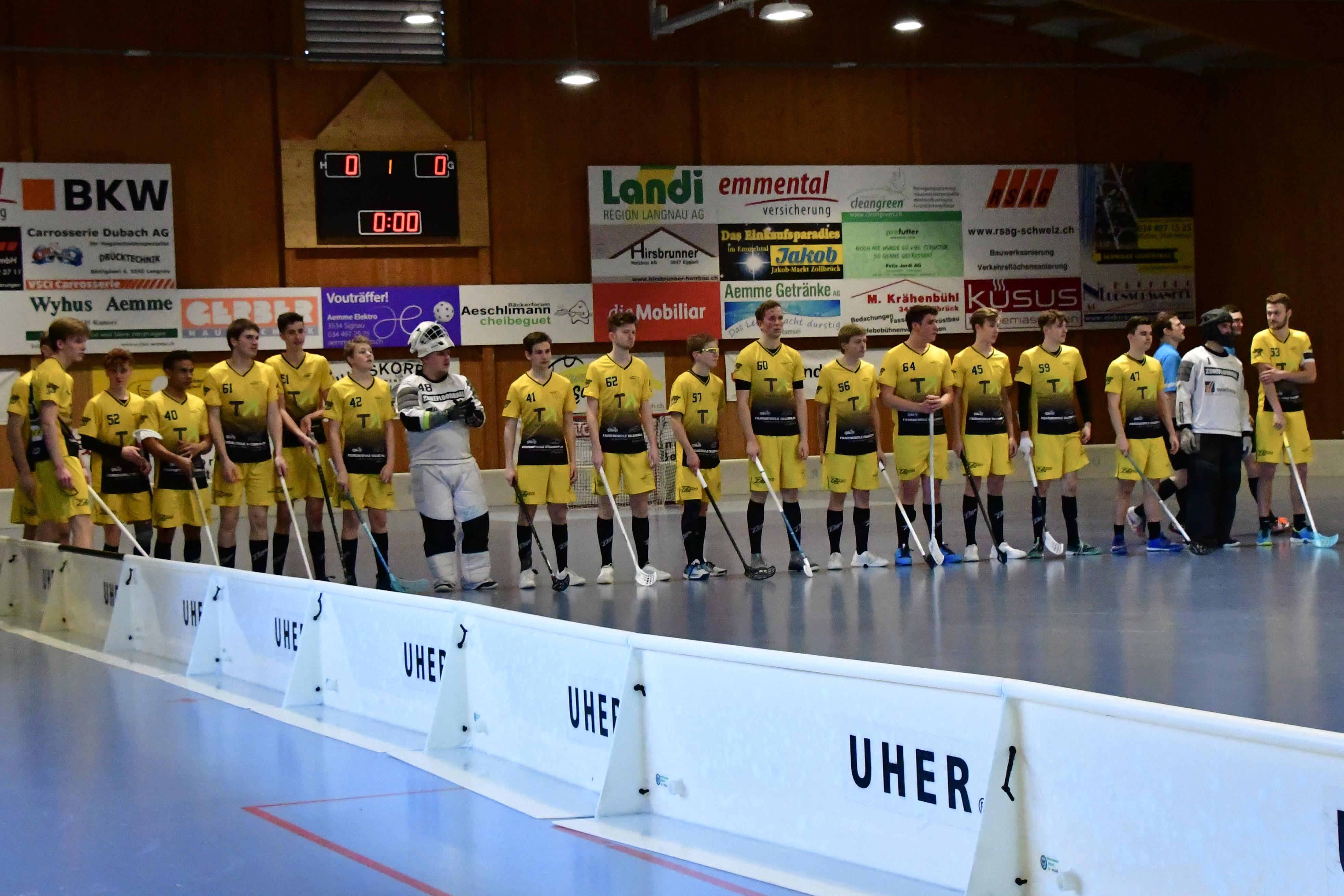 Junioren U21C - UHC Burgdorf, Saison 2019/20