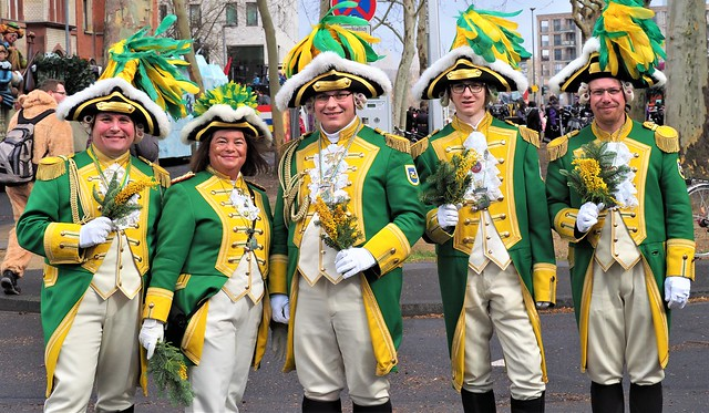 Carnival Mainz on the River Rhine, Germany - Street Parade Rose Monday