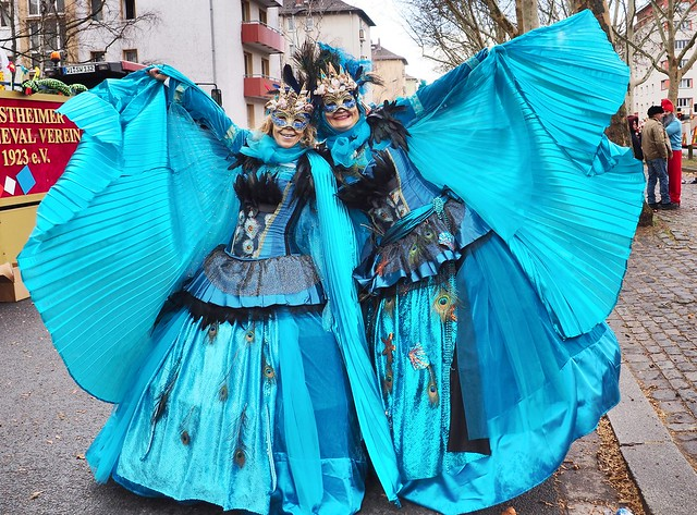 Carnival in Mainz, Germany - Rose Monday Street Parade