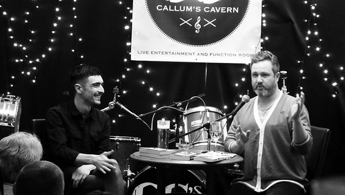 Paisley Book Festival - Chris McQueer and Alan Bissett 01