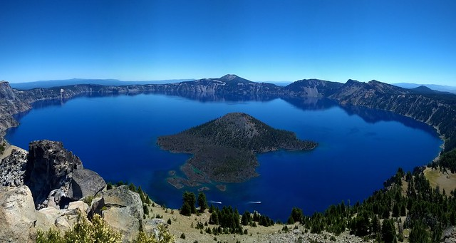 Crater Lake from Watchman Peak, Crater Lake National Park  7/28/2015