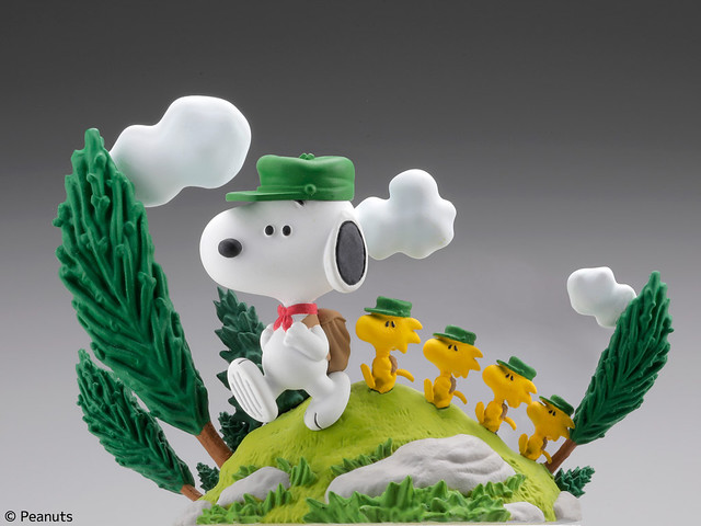 熟悉的白色狗狗回來囉!海洋堂《史努比》東京博物館限定款(SNOOPY MUSEUM TOKYO ピーナッツ ヴィネットコレクション vol.1)