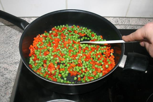 22 - Erbsen andünsten / Braise peas