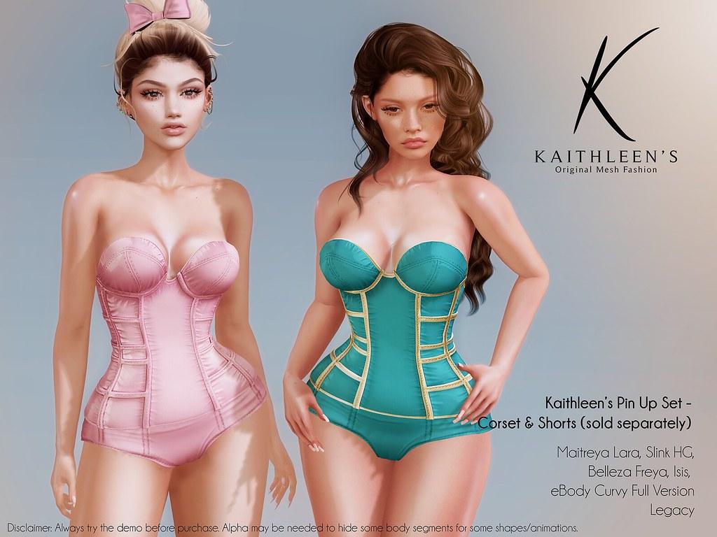 Kaithleen's Pin Up Set Poster web