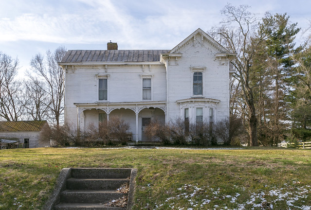 Huss House — Clay Village Vicinity, Shelby County, Kentucky