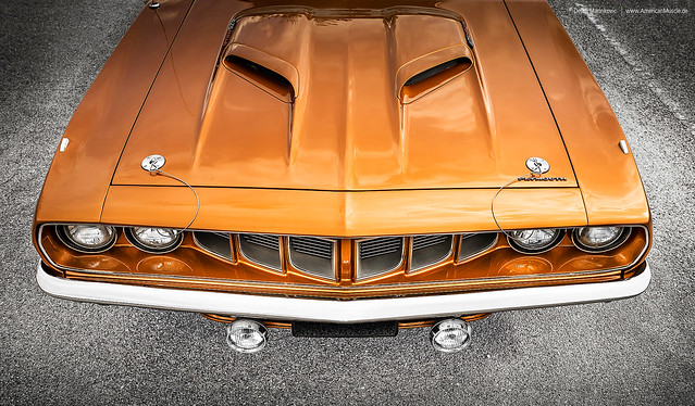 1971 Plymouth 'Cuda Front End