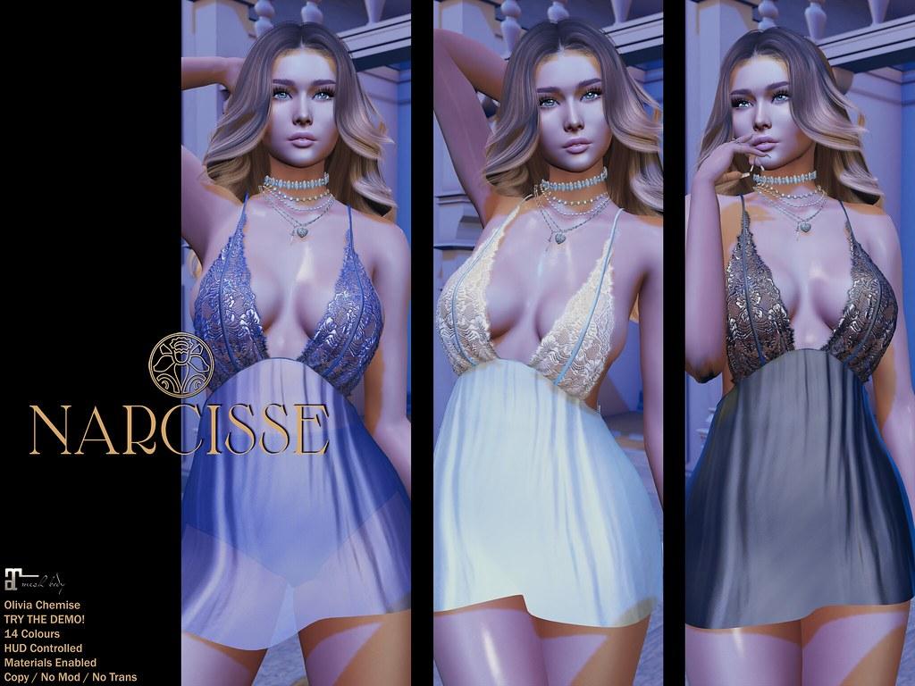-Narcisse- Olivia Chemise @ Fameshed