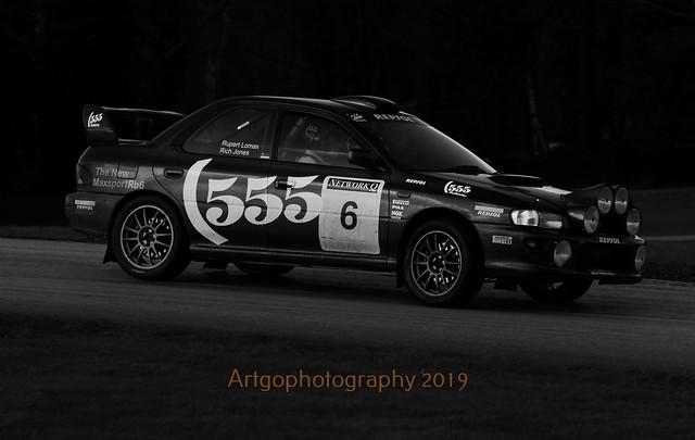 Subaru Impreza WRX Oulton Park Black and White  29-02-2020