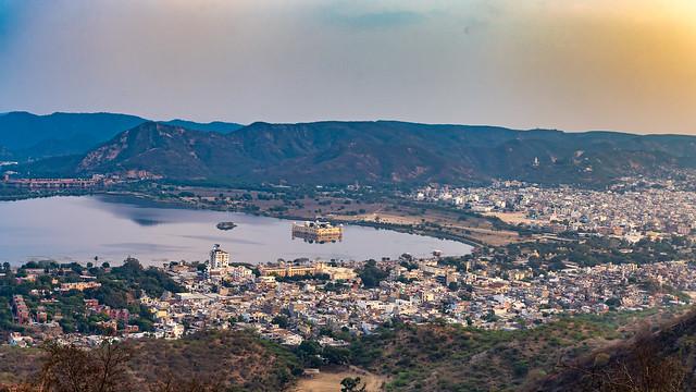 Panaromic view of Jalmahal !!