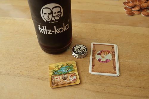 """fritz-kola zum Brettspiel """"Camel Up"""""""