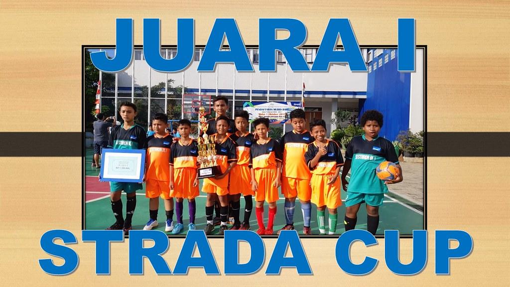Tim Futsal SD Strada Budi Luhur I Juara I Strada Cup 2020