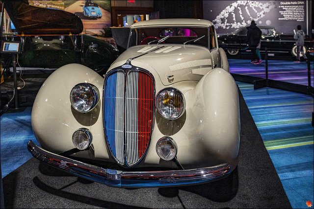 1938 Delahaye 135MS Coupe by Figoni et Falaschi