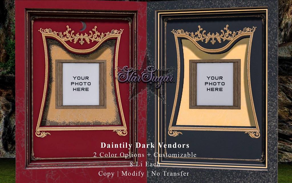 Daintily Dark Vendors