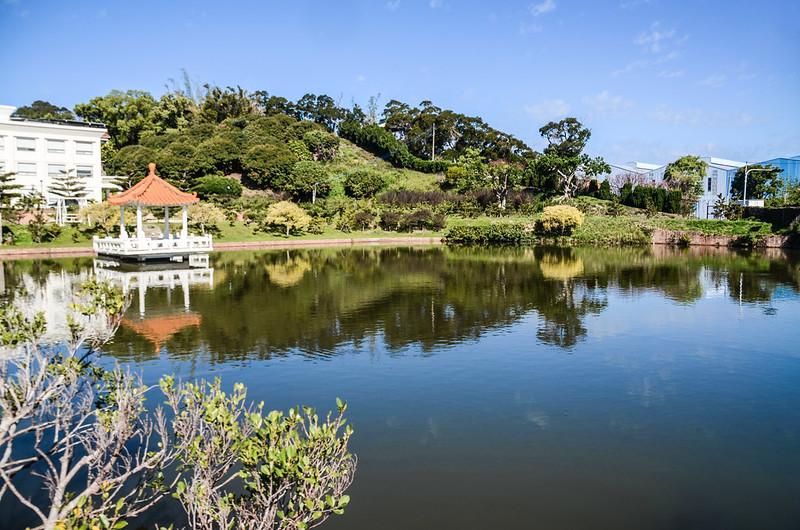 綠池庭園餐廳小湖
