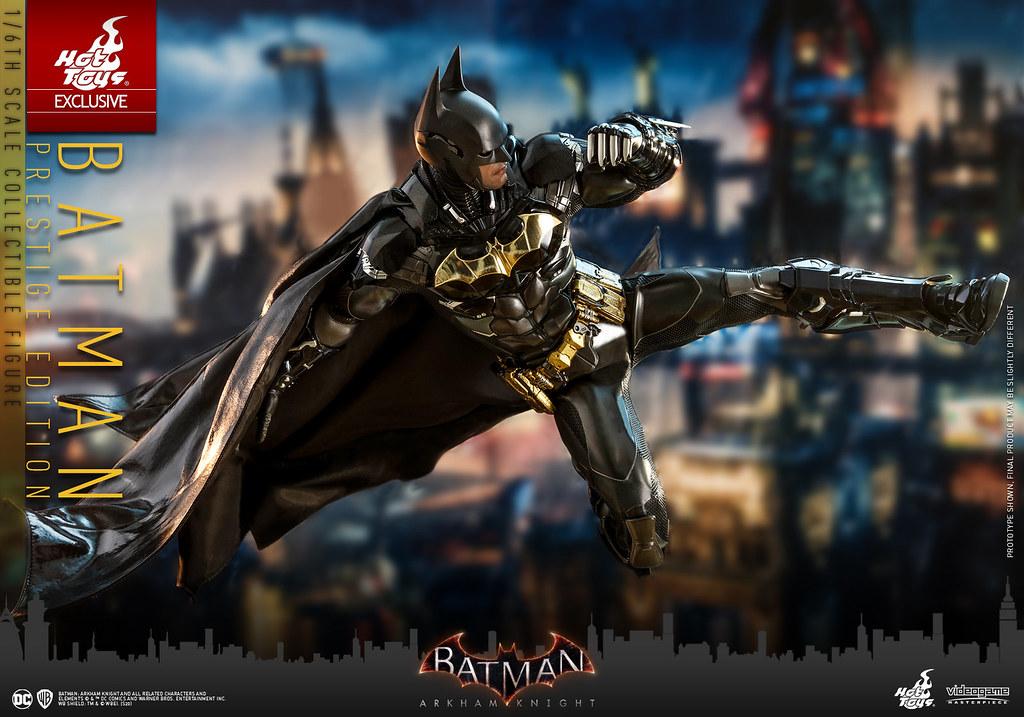Hot Toys – VGM37 -《蝙蝠俠:阿卡漢騎士》蝙蝠俠 (Batman) Prestige Edition 1/6 比例人偶【日本限定】