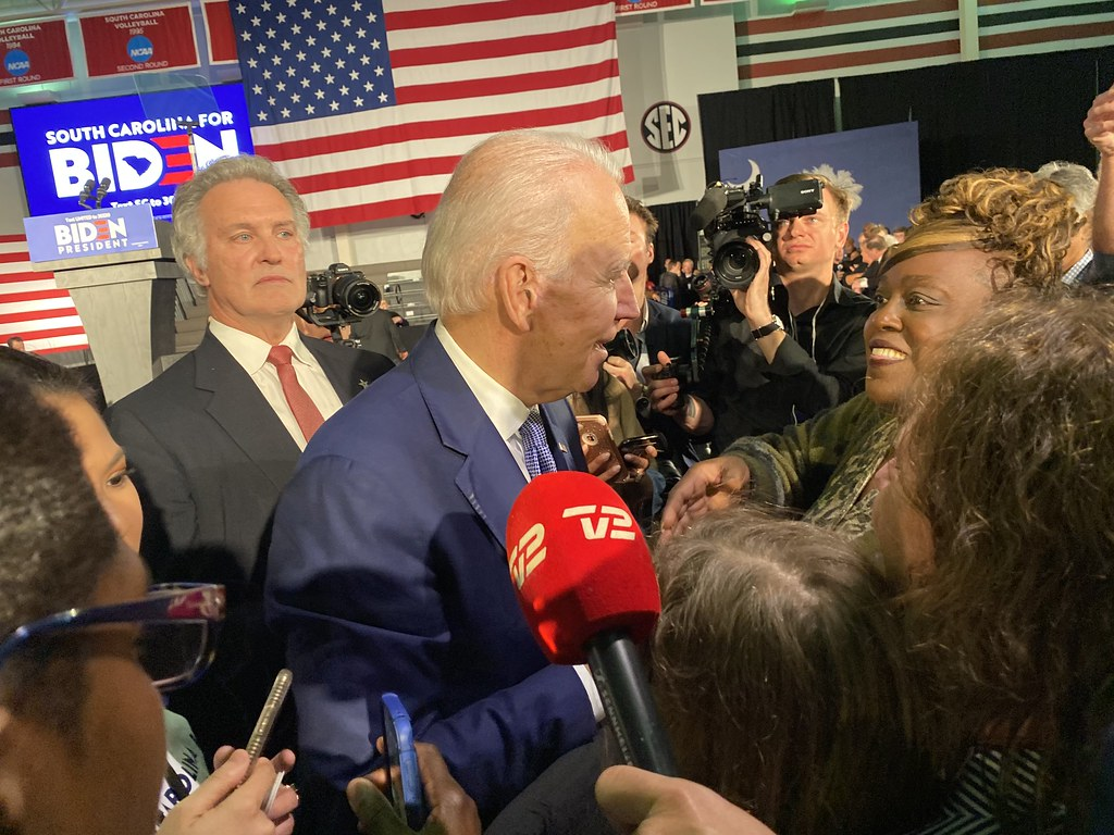 Hearing from Biden's voters in South Carolina; Why Joe?