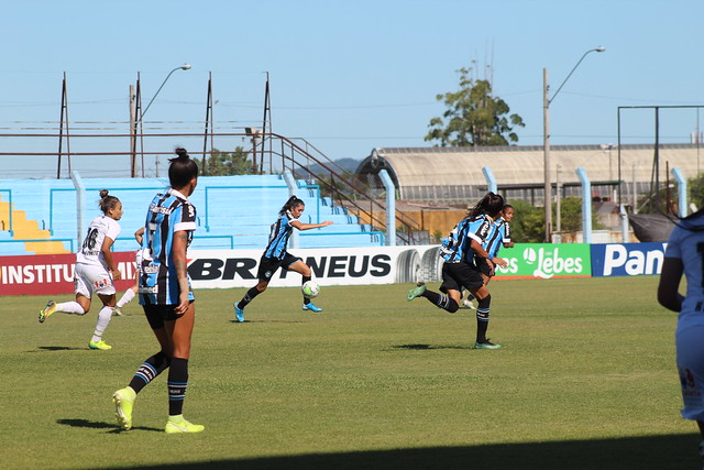 Grêmio 0 x 2 Santos - Brasileirão Feminino A1