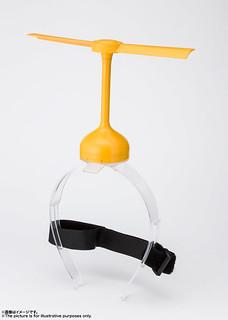 用高科技電動馬達在你頭上轉起來!PROPLICA《哆啦A夢》竹蜻蜓(タケコプター) 1/1比例道具複製品