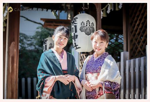 親子でお着物♡ 深川神社(愛知県瀬戸市)