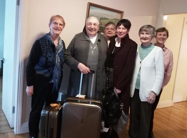 Visita Madre Yvonne Reungoat all'Ispettoria Nostra Signora Regina d'Irlanda (IRL) - Dal 24 febbraio al 1°marzo 2020
