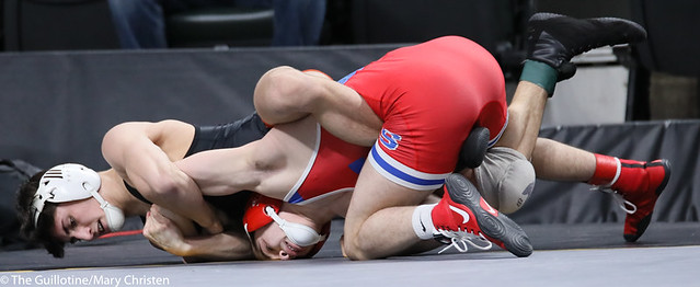126AA Semifinal - Chase DeBlaere (Simley) 47-3 won by fall over Landen Parent (Princeton) 42-4 (Fall 5:04). 200229AMC1284