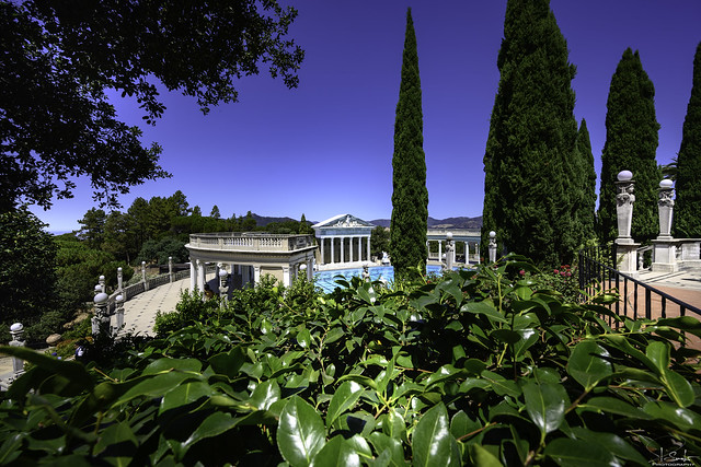 Neptune Pool in Hearst Castle - California - USA