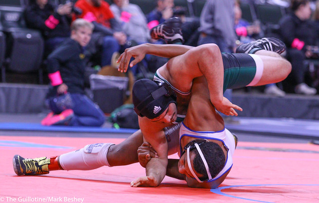 220AAA 5th: Antonio Davis (Park) 44-5, Sr. over Deonte Bryant (Hopkins) 26-5, Sr. (MD 11-3) - 200229bmk0200