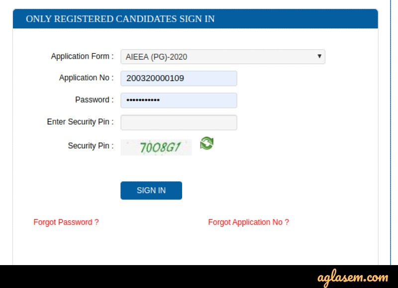 ICAR AIEEA PG Admit Card 2020 (Available) - Download AIEEA PG Hall Ticket at icar.nta.nic.in