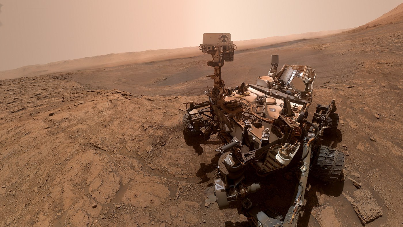 Photo by Mars Rover