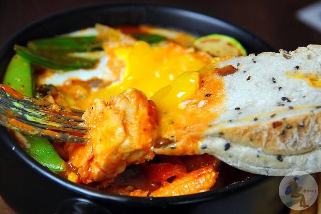 伊斯加島的蔬菜燉雞