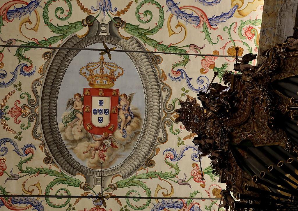 Capela de São Miguel da Universidade de Coimbra. Missa Solene do dia da Universidade.