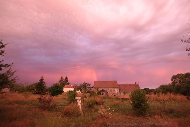 Sunset et Orage en indre
