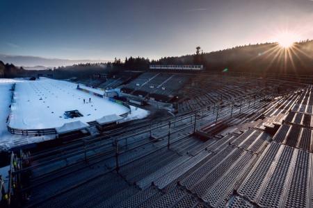 Biatlon v Novém Městě na Moravě bude kvůli koronaviru bez diváků