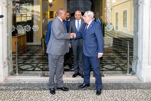20.02. Secretário Executivo recebe Ministro das Relações Exteriores de Angola