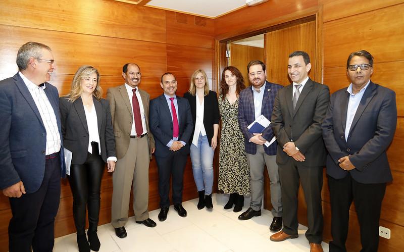 Sesión constitutiva del Integrupo Saharaui en las Cortes de Castilla-La Mancha