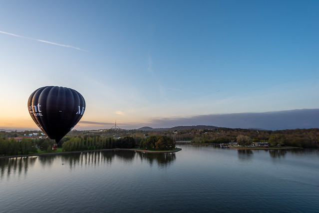 Canberra balloon