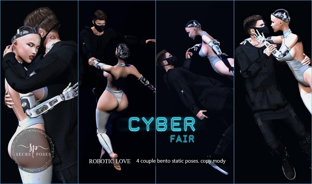 Secret Poses – Robotic Love @  Cyber Fair