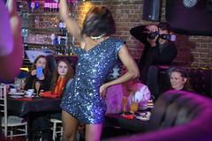 DSC_1950 Zebrano The Drag Brunchette Greek street Soho London. duo of explosive Drag Queens Rihanna vs Britney