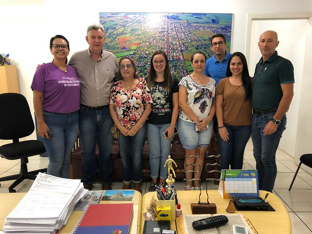 28/02/2020 Reunião Prefeitura de Santo Antônio das Missões