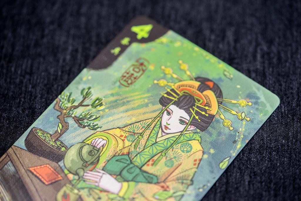 Hanamikoji juego cartas boardgame