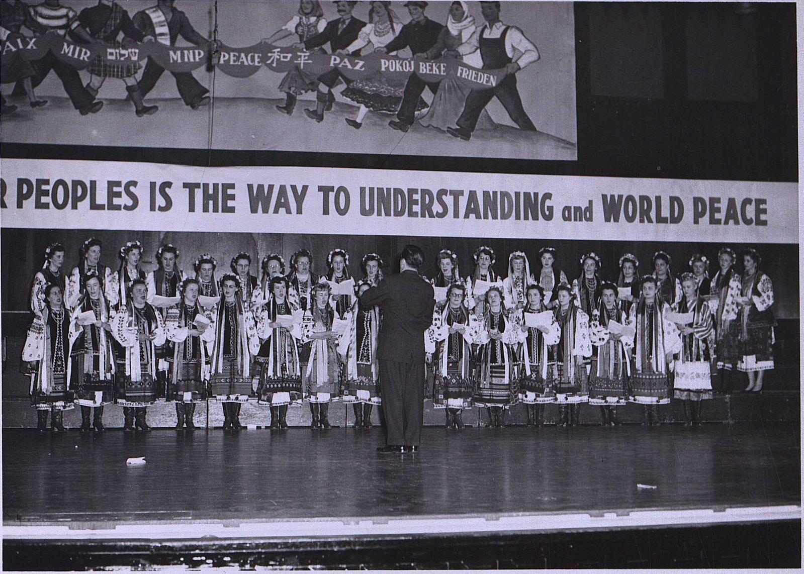 19. 1950-е. Женский хор «Гачилка»