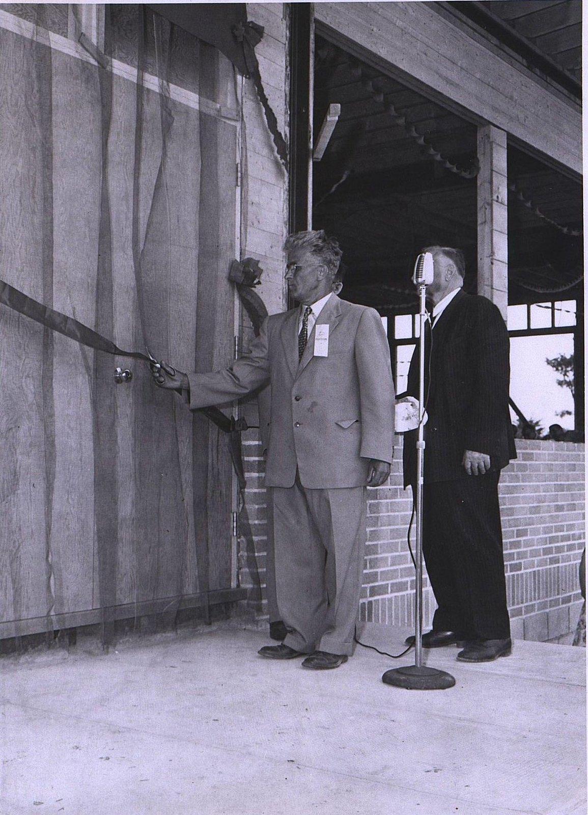06. 1950-е. Открытие павильона
