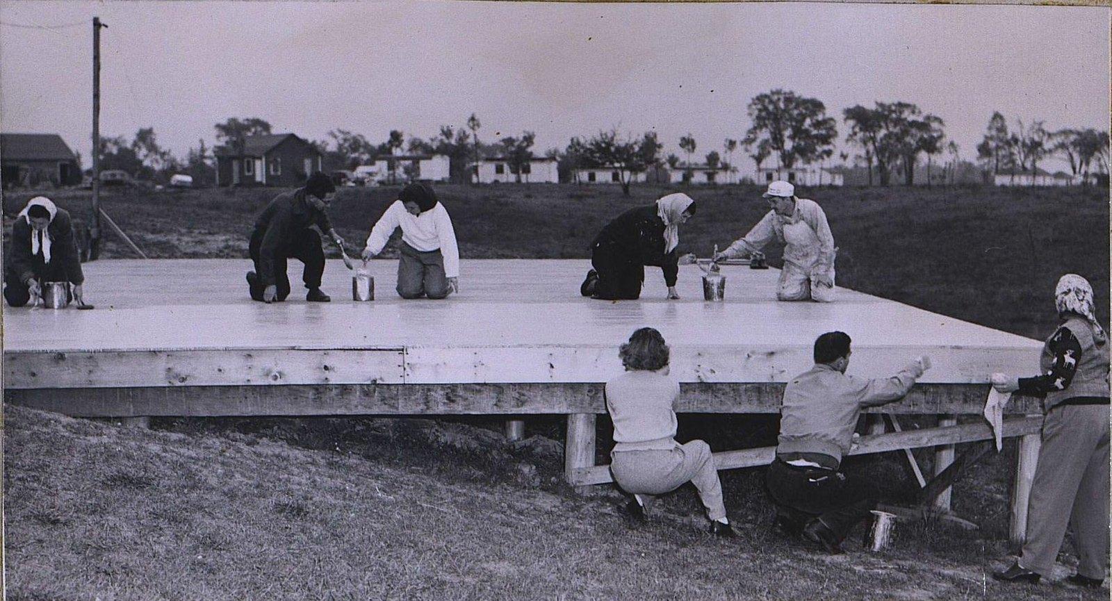04. 1950-е. «В Палермо будет свой павильон». Начальный этап строительства.