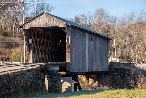kentucky bridge structure coveredbridge wallingford unitedstatesofamerica