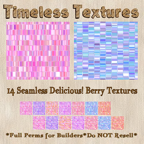 TT 14 Seamless Delicious! Berry Timeless Textures